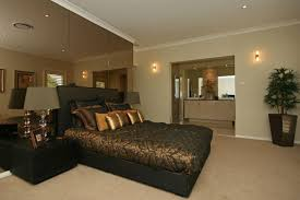 Cream Brown Gold Bedroom Ideas 2