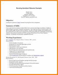 effective resume objective statements 9 cna resume objective ...