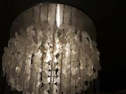 mother of pearl chandelier. Very Difficult To Find Original Vernon Penton Two Tiered Mother Of Pearl Chandelier A