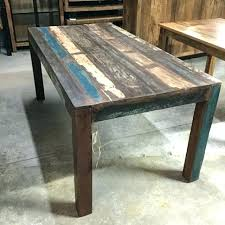 gorgeous reclaimed wood table dining coffee diy kitchen story dessert re