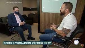 Entrevista de Roberto Cabrini faz o Domingo Espetacular atingir 13 pontos