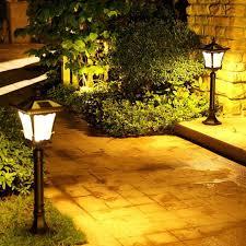 how to install solar bollard garden lights