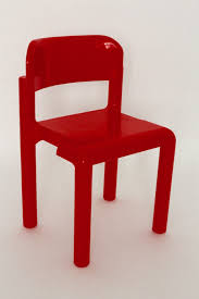 Space Age Furniture Red Space Age Set Of Four Stacking Chairs By Eero Aarnio 1971 1972