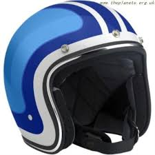 strong protection biltwell bonanza multi white blue open face helmet
