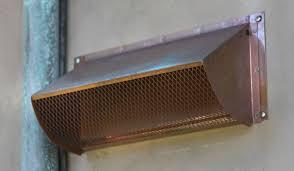quality copper range hood wall vent