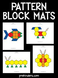 <b>Pattern</b> Block Mats - PreKinders