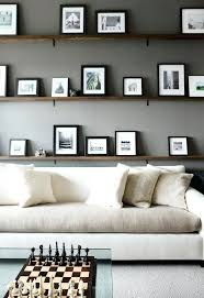 Floating Shelves For Picture Frames Impressive Black And White Frames On Shelf Bedroom Grey Frame Window White