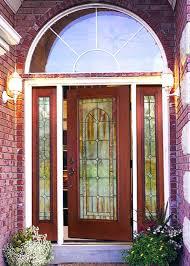 arched front door way canopy curtains oak doors uk