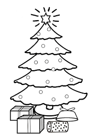 Picture Of A Christmas Tree To Color Rainforest Islands Ferry