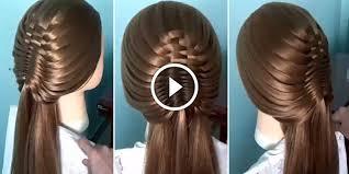 Hairstyle Waterfall how to create latest waterfall braid hairstyle see tutorial 2325 by stevesalt.us