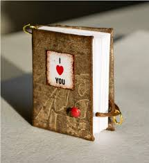 miniature valentine s notebooks