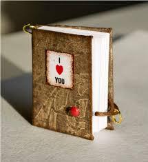 miniature valentine s notebooks
