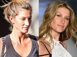gisele bündchen from stars without makeup the supermodel takes a break and goes sans makeup for