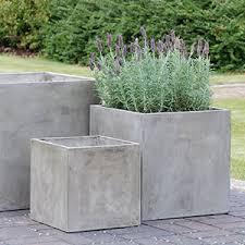 large cement planters. Au Large Concrete Planter Cement Planters T
