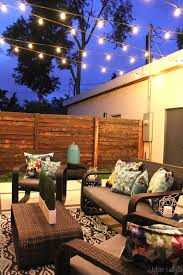 outside string hanging light with best 25 patio lights ideas on lighting and 2 600x900 600x900px