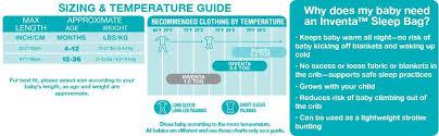 Baby Sleep Temperature Chart Love To Dream Inventa Sleep Bag 5 Tog 4 12 Months Lemon