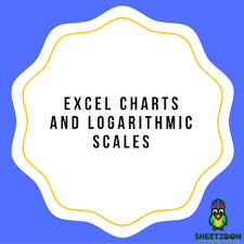 Logarithmic Chart Excel Excel Charts And Logarithmic Scales Sheetzoom Excel Courses