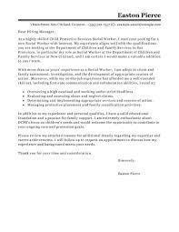 Ideas Collection Cover Letter Examples For Resume Social Work Cute