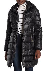 Faux Fur Lined Quilted Coat