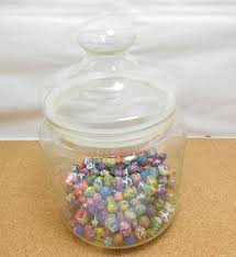 1x wedding event lolly candy buffet apothecary jar 21 5cm high we caja ch7