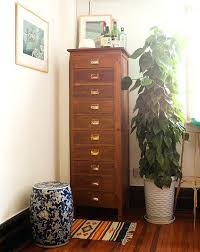 dressers astonishing tall narrow dresser chest with regard to prepare