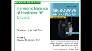 Rf Circuit Design 2nd Edition Pdf Harmonic Balance Analysis Of Nonlinear Rf Circuits