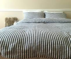 ticking stripe duvet classic ticking stripe inspiration ticking stripe duvet cover king