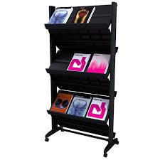magazine rack office. 252n xl paperflow double side magazine rack office