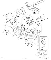 John deere parts diagrams john deere z255 eztrak mower with 48 in
