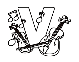 Small Picture free letter v coloring pages wwwmindsandvinescom