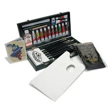royal langnickel regis oil color brush paint set