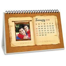paper art personalised desk calendar