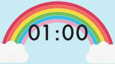 1 Minute Countdown Pinterest