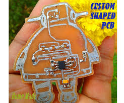 custom shaped pcb instructable robot 18 steps pictures picture of custom shaped pcb instructable robot