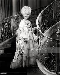 Actress Shirley Temple in a scene from the movie