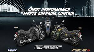 yamaha fzs fi features colors mileage and specification india yamaha motor