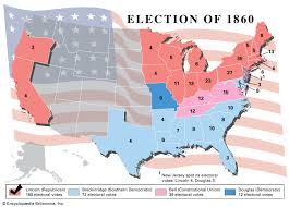 U S Presidential Election Of 1860 Candidates Results