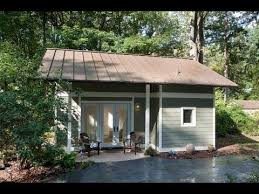 tiny house with garage. Garage Converted Into 340 Sq. Ft. Tiny Cottage | Amazing Small House Design With