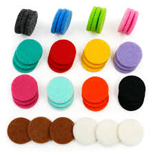 42pcs Replacement <b>Refill Pads</b>(22mm) for <b>Aromatherapy Essential</b> ...