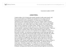 animal welfare essay university biological sciences marked by document image preview