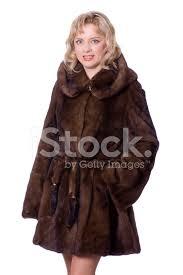 beautiful woman in fur coat six