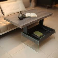 coffee table pop up coffee table turned desk small space coffee table for
