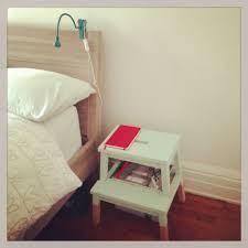 Step Stool For Bedroom Painted Ikea Stool Baby Pinterest Wood Counter Ikea Bekvam