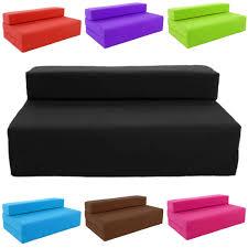Details about Block Filled Fold up Sofa Bed Z Guest Foam Futon Mattress  In/Outdoor Gilda