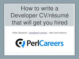 How To Prepare A Resume For An Interview Interesting How To Write A Developer CVRésumé That Will Get You Hired
