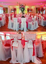 Primrose Cottage Wedding Reception Pink Tall Flower Centerpieces