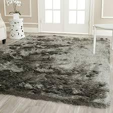 safavieh paris shag collection sg5118383 titanium polyester area rug 8u0027 x 10 plush area rugs35 rugs