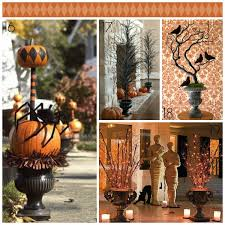 Halloween Urn Decorations