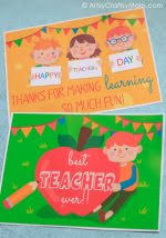 Happy Teachers Day Chart 25 Awesome Teachers Appreciation Cards With Free Printables
