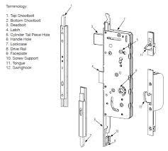 hoppe from marvin door handle parts source marvinwindowdoorparts